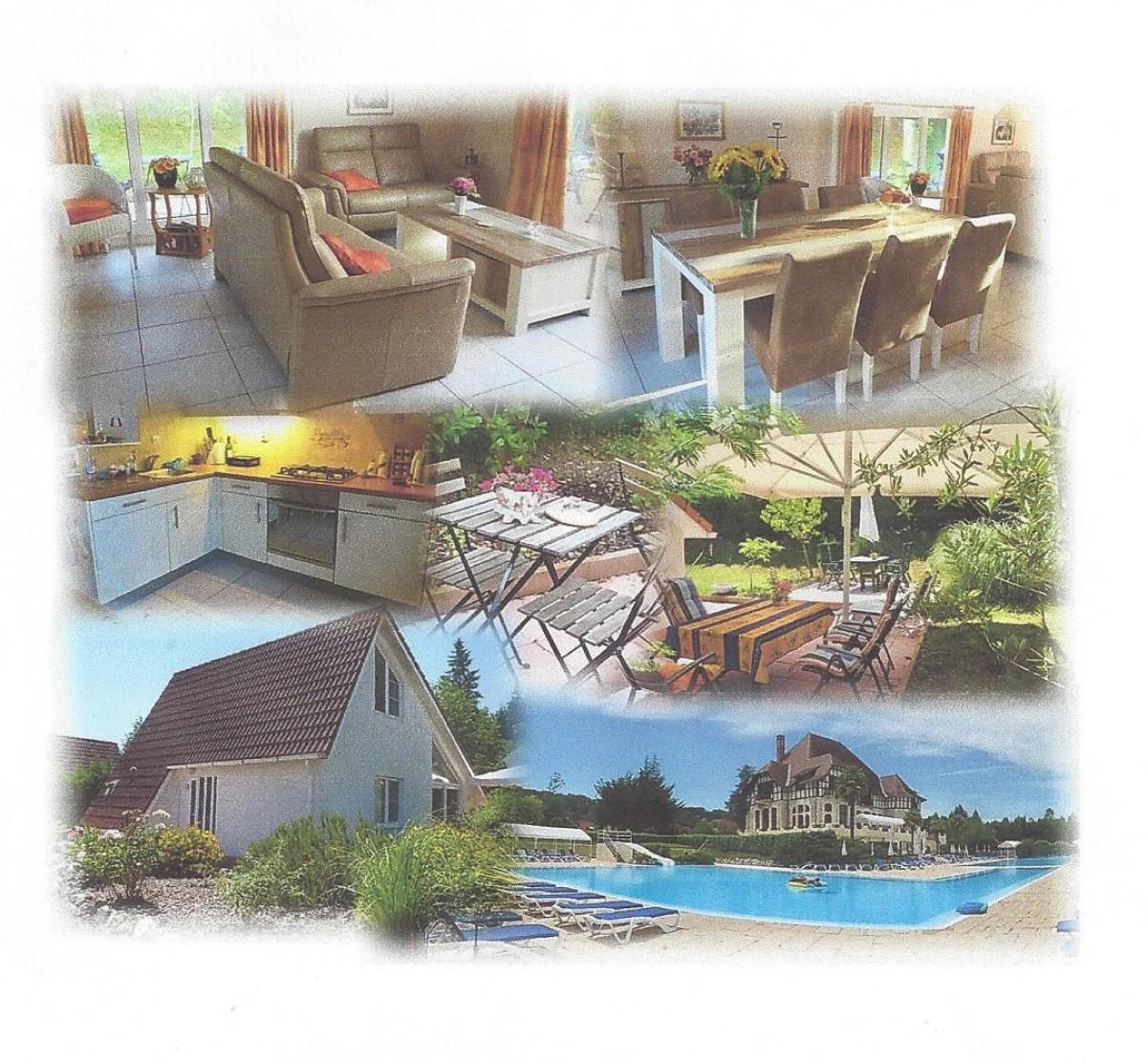 Luxe villa op vakantiepark Frankrijk , Superaanbieding. header afbeelding