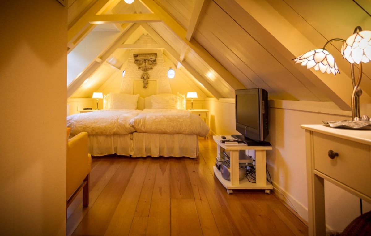 Sfeervolle gastenkamer privébadkamer in Zaans rijksmonument bij Zaanse Schans en Amsterdam header afbeelding