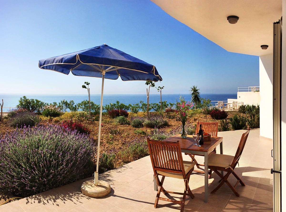 Ruime appartementen met een geweldig uitzicht in Mirtos/Ierapetra header afbeelding