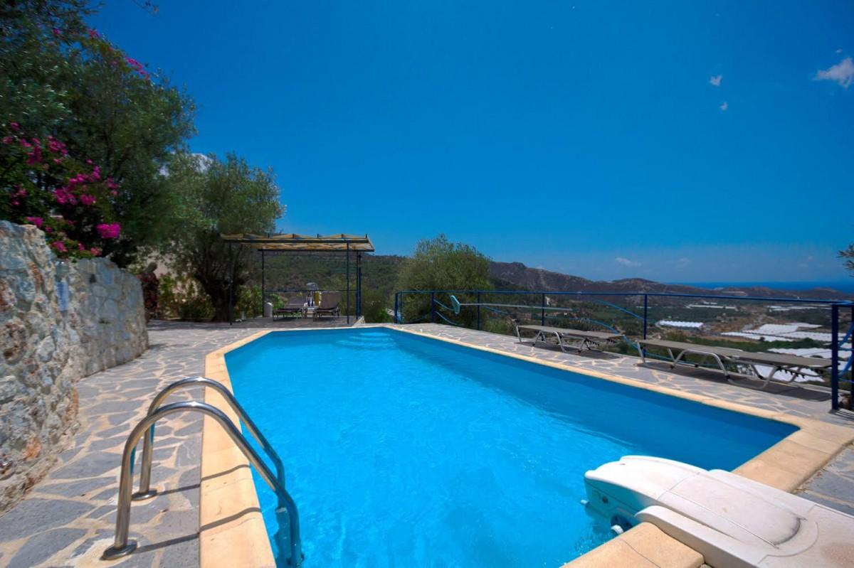 Vakantievilla zuid-Oost Kreta Luxueus met privé zwembad header afbeelding
