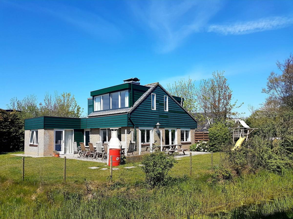 Luxe vrijstaande bungalow 8,10 pers De Krim Texel  header afbeelding