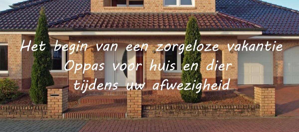 Het begin van een zorgeloze vakantie: oppas voor huis en dier tijdens uw afwezigheid - Zuid-Holland header afbeelding
