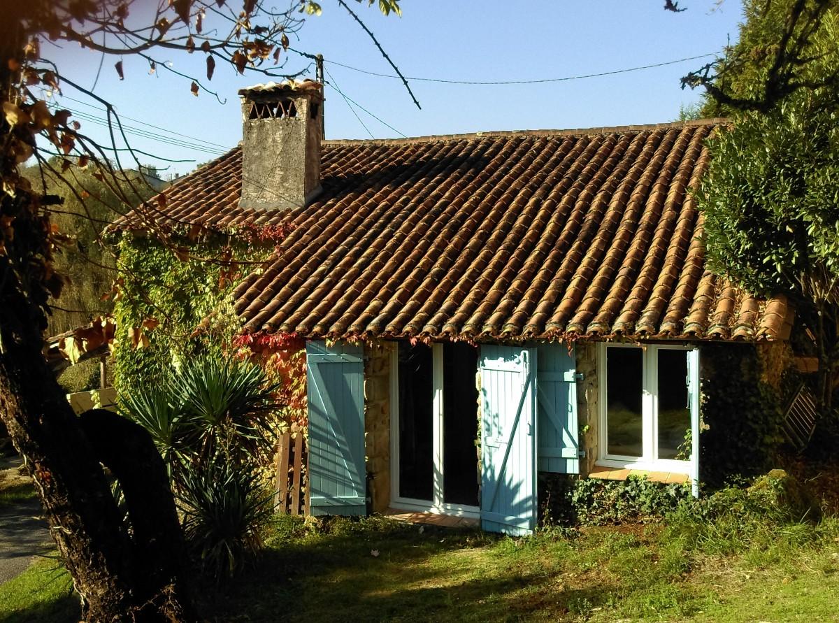 Vrijstaand vakantiehuis 2-5p met 2 overdekte terrassen header afbeelding