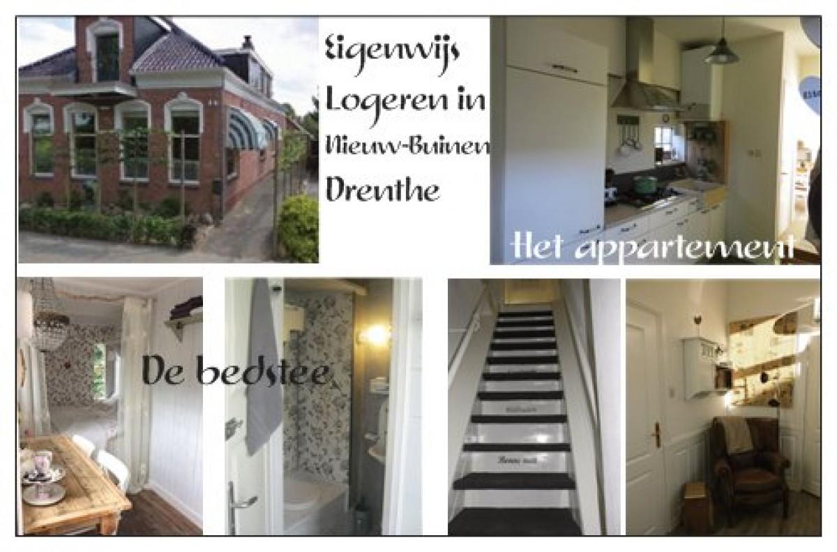 Eigenwijs logeren in Drenthe header afbeelding