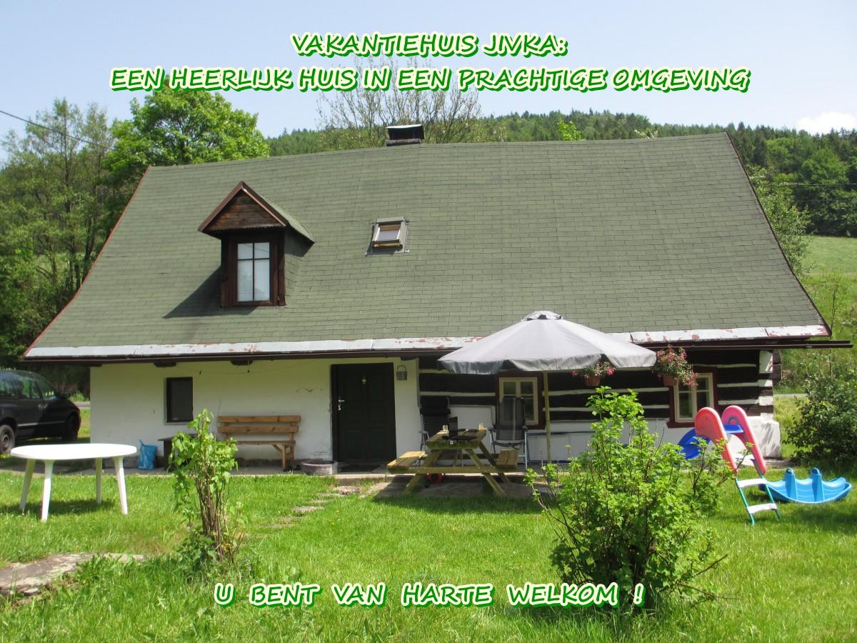 VAKANTIEHUIS JIVKA in het REUZENGEBERGTE, Bohemen, TSJECHIË. header afbeelding