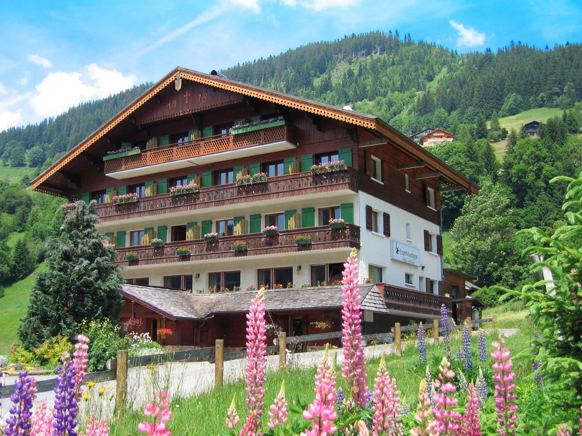 Hotel Esprit Montagne header afbeelding